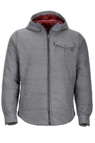 Marmot  Men's Banyons Insulated Hoodie Slate Grey Heather XX-Large