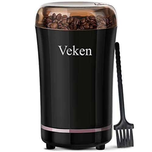 Veken Coffee Grinder Electric Sp...