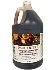 PAUL DUPRE 17% Sherry Style Cooking Wine, 3.78 Liter