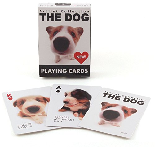 Bicycle The Dog Artlist Collection Playing - Cards Sports Playing