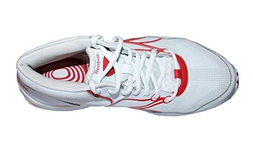 Reebok Ton Train Viva Mi V58672 Fitness - Chaussures - blanc/redtastic, 40.5 EU / 7 UK