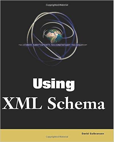 Special Edition Using XML Schema