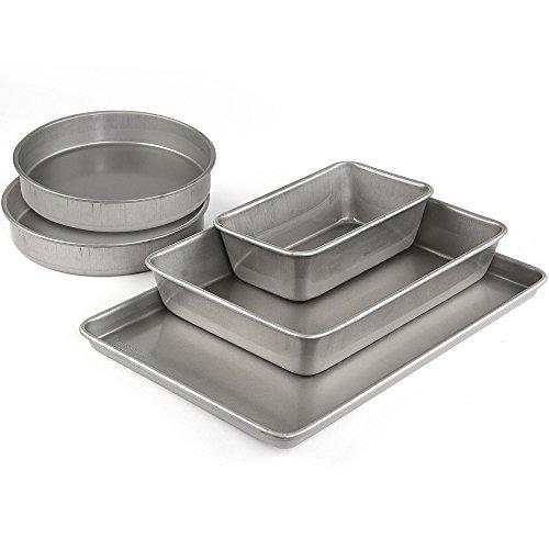 Covered Square Stoneware Baker (Emeril Lagasse 62670 Aluminized Steel Nonstick 5-Piece Bakeware Set)