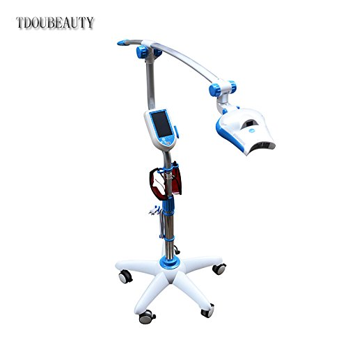 Popular In The U.S .Mobile LED Light Tooth Whitening Machine DY-06 with Two Free Goggles by TDOUBEAUTY