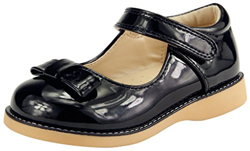 The Doll Maker Girl's Mary Jane - TD173054C-8 Dolls Black Mary Jane Shoes