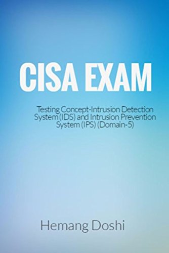 CISA Exam-Testing Concept-Intrusion Detection System (IDS) & Intrusion Prevention System (IPS)-Domain 5