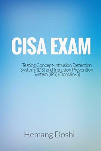 Intrusion Prevention System Ips - CISA Exam-Testing Concept-Intrusion Detection System (IDS) & Intrusion Prevention System (IPS)-Domain 5