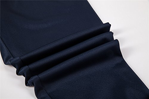 UNACOO Boys Active Basic Jogger Breathable Fleece Lined Pants (Navy, XL(11-12T)) by UNACOO (Image #5)