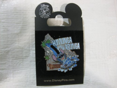 Disney Pin Stitch Typhoon Lagoon Humunga - World Typhoon Lagoon Disney