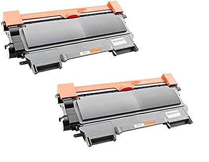 2 x Toner Laser Cartridge Toner Negro para Impresora Laser ...