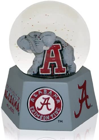 NCAA Crimson Tide Musical Snow Globe