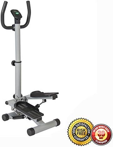 MTN Gearsmith Escalera de ejercicio escalera portátil escalador máquina aire paso a paso entrenamiento cardiovascular plateado: Amazon.es: Deportes y aire libre