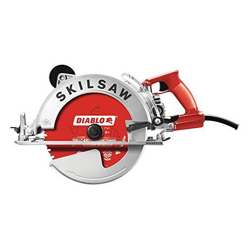 SKILSAW SPT70WM-22 10-1/4 In. Magnesium SAWSQUATCH Worm Drive (Diablo Blade) ()