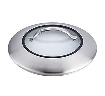 10.25 10.25 65902600 Scanpan CTX Stainless Steel//Glass Lid