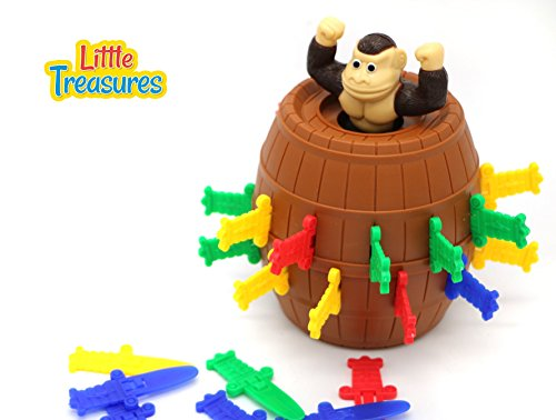 Little Treasures Pop Up Gorilla Game for Children 5+