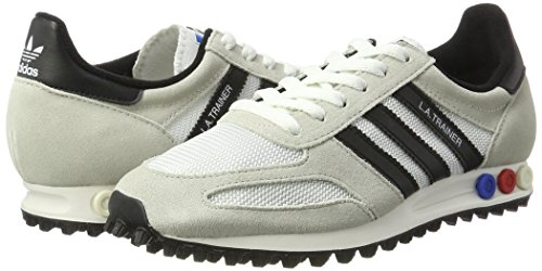 de adidas Core Vintage La Clear Blanco White Brown 37 Og Black Trainer 1 deporte 3 Zapatillas Hombre EU rvrqgw8I