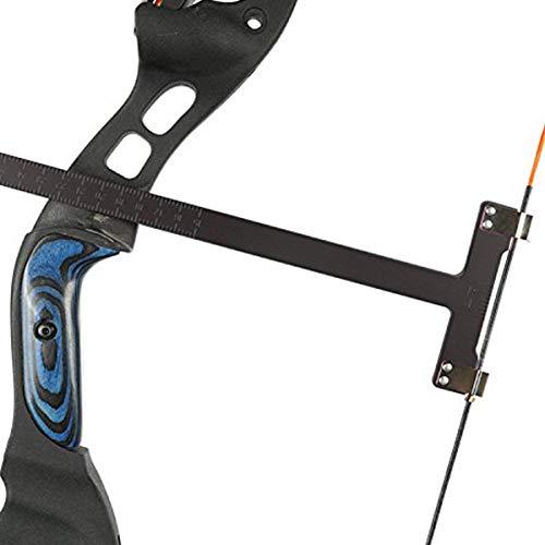 JVSISM Bow Square Archery T Ruler 12 inches Measurement Compound Recurve Bow