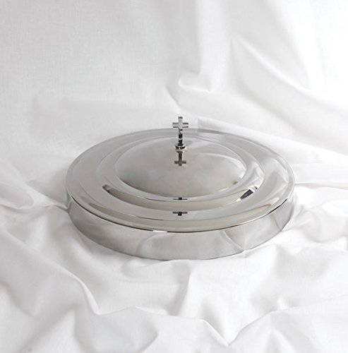 Communion Tray Cover (Communion Tray Cover in Stainless Steel - Remembranceware by Broadman Holman)