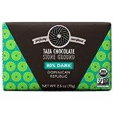Taza Organic Stone Ground Chocolate Bar - 80% Dark (2.5 ounce)