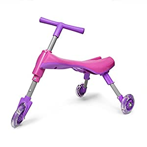 Zoom Bike® Kids Trike for Indoor and Outdoor Use / Foldable and Lightweight - Non-Scratch Wheels - No Setup Needed!