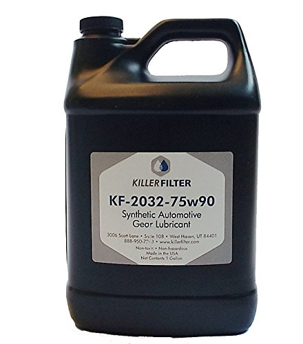 Killer Filter Universal Synthetic Gear Oil Lube SAE 80W-90 (4 gallons) by Killer Filter