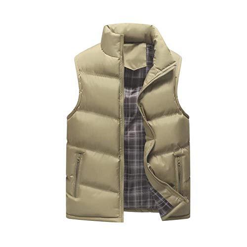 Hommes Manteau 5 coloré couleur D'hiver Fuweiencore Gilets Casual Xxxl Coupe Portable Sans Chaud Slim vent 4 Pour 1 Haute Manches Gilet Léger Vest Taille Qualité Down De c1YZr1Bqw