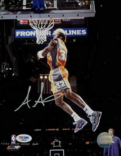 Signed Amar'e Stoudemire Photograph - Amare 8x10 Big Slam Dunk - PSA/DNA Certified - Autographed NBA Photos