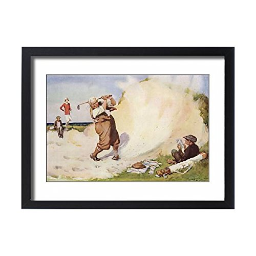Framed 24x18 Print of Grit by Wilmot Lunt (7244591) - Persistence Golf