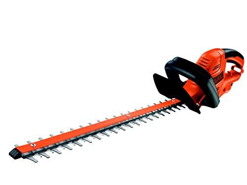 Black + Decker 500W Elektro-Heckenschere, 50 cm Schwertlänge, 22mm Schnittstärke, asymmetrischer Klingenschliff, GT5050