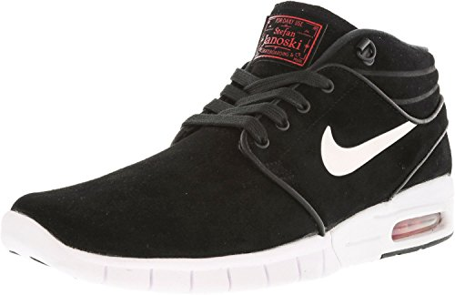 new product d1e94 13a63 NIKE Stefan Janoski Max Mid L Mens Black Suede Athletic Skate Shoes 9.5 -  Buy Online in Oman.   Shoes Products in Oman - See Prices, Reviews and Free  ...