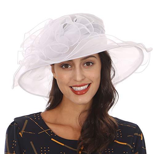 Wimdream Derby Hats for Women,Ladies Church Wedding ()