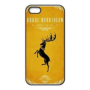 Game Of Thrones House Baratheon iPhone 4 4s Cell Phone Case Black Delicate gift JIS_285001