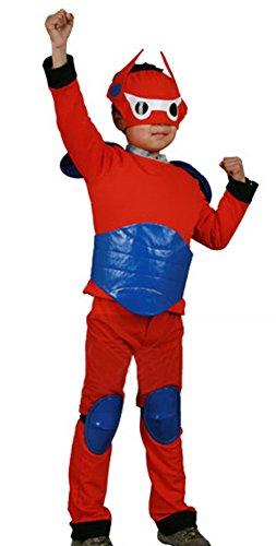 Popul (Baymax Costume Kid)