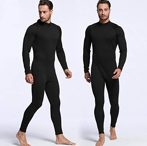 Hommes XXL Z&X Combinaison en néoprène de 2mm - Combinaison de Surf pour Homme, Combinaison pour Bretelles et Veste de plongée et Veste 2