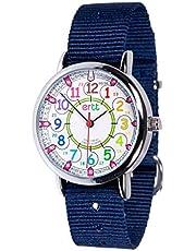 EasyRead Time Teacher Learn The Time Boys Watch Navy Blue #ERW-COL-24-NB