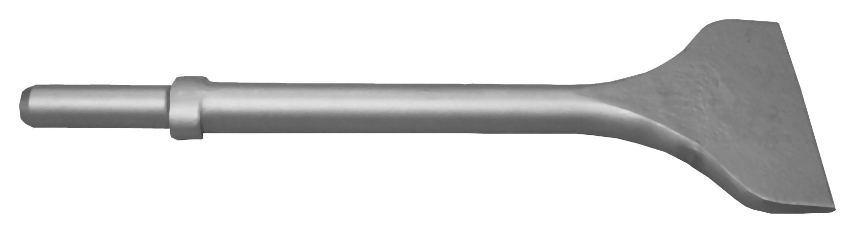 Champion Chisel, 12-Inch Long by 4-Inch Wide .680 Round Shank Oval Collar Chipping Hammer Chisel