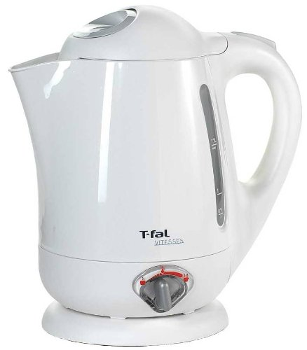 T-fal BF6520 Vitesses 1.7-Liter Electric Kettle with Variable Temperature, White For Sale
