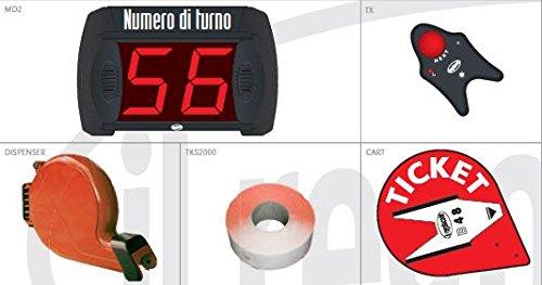 Kit Elimina Code pantalla 2 dígitos Mando dispensador + Rotolino: Amazon.es: Iluminación