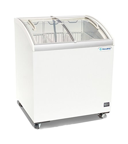 Glass Top Freezer - Metalfrio 30