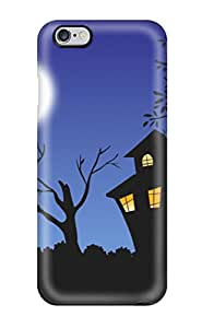 High Quality ZippyDoritEduard Halloween Background Skin Case Cover Specially Designed For Iphone - 6 Plus