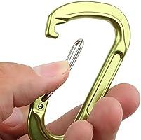 Amazon.com: Magideal anilla en D de aleación de aluminio ...