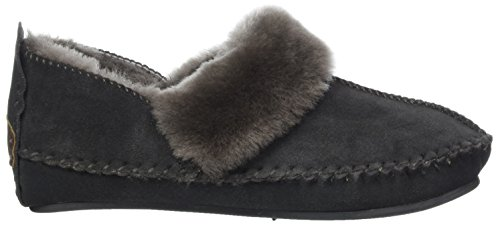 Zapatillas Grey Gris Por Casa Para Estar dark De Fox 85 Mujer Warmbat Polar wPqxC1
