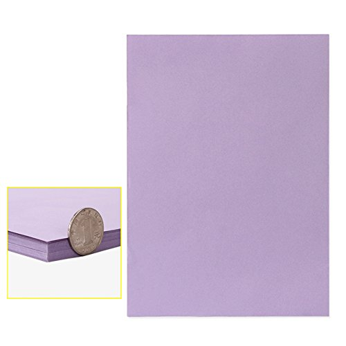 Cotyledon A4 Sticker Paper sheet for Laser Inkjet Printer, self-adhesive, multi-purpose, ideal for art & craft making,50sheets