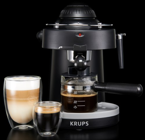 krups xp100050 steam espresso machine with frothing nozzle. Black Bedroom Furniture Sets. Home Design Ideas