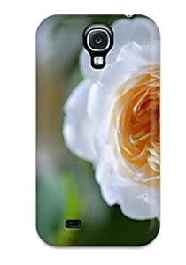 Tpu JudyRM Shockproof Scratcheproof Flower In Front Of The Mirror Hard Case Cover For Galaxy S4