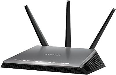 Netgear Nighthawk D7000 ADSL2+ Wifi Ethernet/LAN Bi-bande Noir
