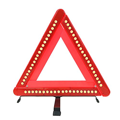 Flasher Kit (Warning Triangle, Foldable Car Emergency Warning Triangle-Emergency Road Flasher,Universal Reflective Warning Triangle Signs)