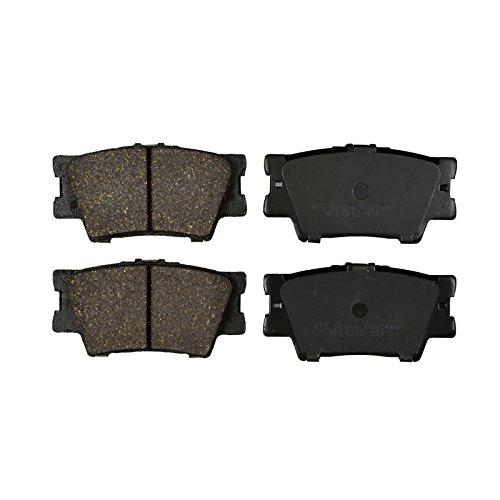 Toyota Camry Brake (KFE Ultra Quiet Advanced KFE1212-104 Premium Ceramic Rear Brake Pad Set)