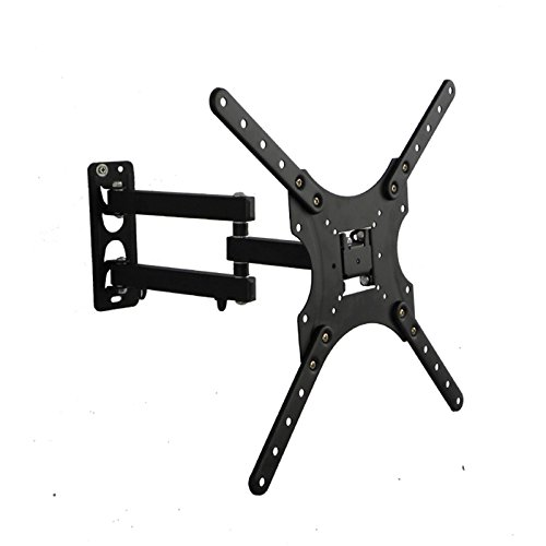 New Yuanshikj TV Wall Mount for most 17-55 LED LCD Plasma Flat Screen Monitor up to 88 lb VESA 400...