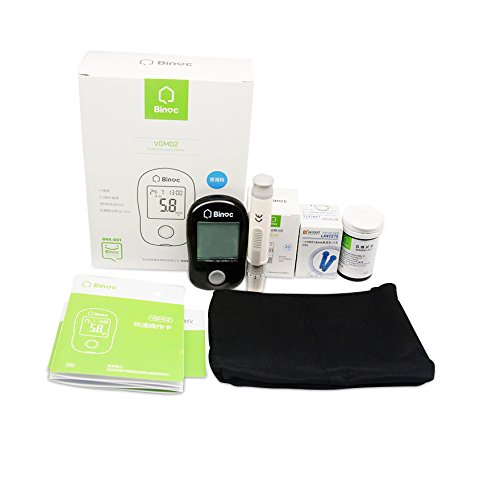 Binoc-AutoCode-Complete-Diabetes-Blood-Glucose-Testing-Kit-Lancing-Device-25-Lancets-25-Test-Strips-Manual-and-Carry-Case